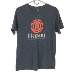Element Graphic Gray T-shirt Med
